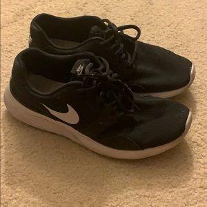 Nike black shoes